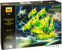 Модель легендарного корабля-призрака
