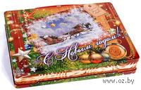 """Кейс """"Новогодняя открытка"""""""