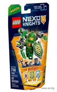 "LEGO Nexo Knights ""Аарон - Абсолютная сила"""