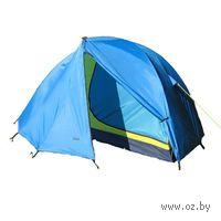 Трехместная двухслойная палатка