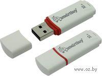 USB Flash Drive 32Gb SmartBuy Crown (White)