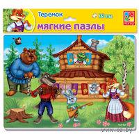 """Пазл мягкий """"Теремок"""" (35 элементов)"""