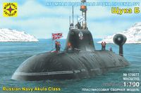 """Подводная лодка проекта 971 """"Щука-Б"""" (масштаб: 1/700)"""