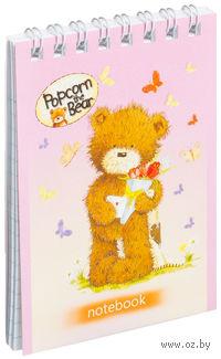 """Блокнот """"Popcorn the Bear"""" (40 листов)"""