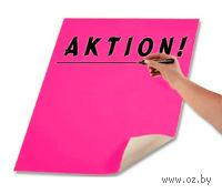 Плакаткартон флюоресцентный. Ярко-розовый (48х68 см)