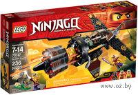 """LEGO. Ninjago. """"Скорострельный истребитель Коула"""""""