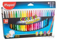 """Фломастеры """"Color Peps"""" в картонной упаковке (24 штуки)"""