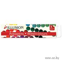 "Акварель ""Illusion"" (6 цветов)"