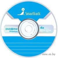 Диск DVD+RW 4.7Gb 4x SmartTrack slim (в упаковке 5 штук)
