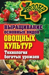 Выращивание основных видов овощных культур. Технология богатых урожаев. Елена Шкитина