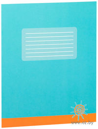 Тетрадь в косую линейку 12 листов (арт. 001351)