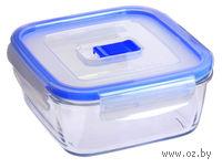 Контейнер для еды стеклянный (760 мл; арт. J5634)