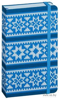 """Записная книжка в линейку """"Hand Made"""" (синяя; 100х160 мм)"""