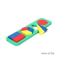 """Развивающая игрушка """"Геометрические фигуры"""" (сложные)"""