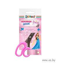 """Ножницы детские """"Princess"""" (133 мм; цвет: розовый)"""