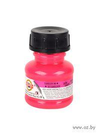 Тушь флуоресцентная (розовая; 20 гр)