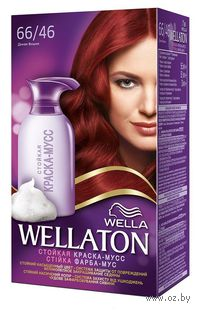 "Краска-мусс для волос WELLATON ""66/46-Красная вишня"""