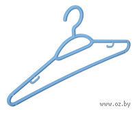 Вешалка для одежды пластмассовая (42 см, арт. С510)
