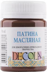 """Патина масляная """"Decola"""" (коричневая; 50 мл)"""