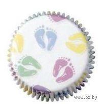 """Набор форм бумажных для выпекания кексов """"Малыш"""" (75 шт; арт. WLT-415-113)"""