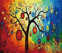 "Картина по номерам ""Дерево богатства"" (400x500 мм; арт. MG230)"