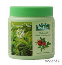 """Бальзам против выпадения волос """"Зеленый чай с мятой и шиповником"""" (500 мл)"""