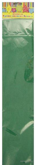 Бумага крепированная (зеленый)