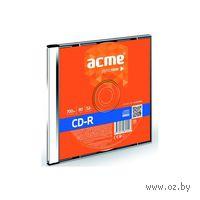 Диск CD-R 700Mb 52х Acme Slim Box