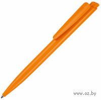 """Ручка шариковая автоматическая """"Dart"""" (цвет корпуса: оранжевый; синий стержень)"""