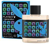 """Лосьон после бритья """"Playboy. Generation Cooling"""" (100 мл)"""