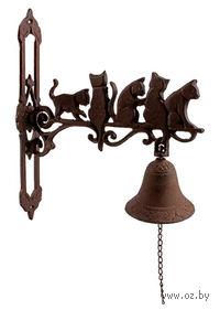 Звонок дверной металлический декоративный