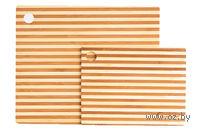 Набор досок разделочных бамбуковых (2 шт.)