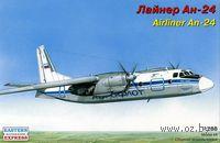 Лайнер Ан-24 (масштаб: 1/288)