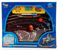 """Развивающая игрушка """"Двусторонняя доска. Удивительный космос"""" (с маркером)"""
