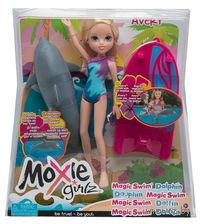 """Кукла """"Moxie Girls. Эйвери с плавающим дельфином"""""""