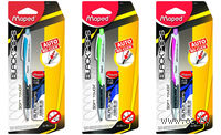 """Автокарандаш """"Black Peps"""" 0.5 мм (цвет корпуса: ассорти; + грифель 0.5, сменные ластики)"""