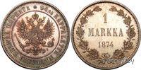 1 марка 1874 S