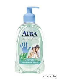 """Мыло жидкое с антибактериальным эффектом """"Алоэ"""" (300 мл)"""