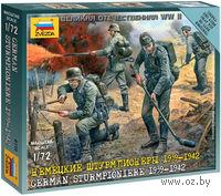 "Набор миниатюр ""Немецкие штурмпионеры 1939-1942 гг."" (масштаб: 1/72)"