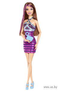 Кукла Барби. Игра с модой. Fashionistas (брюнетка в синем)