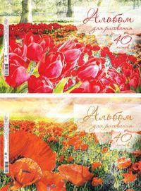 """Альбом для рисования """"Красная поляна"""" (А4; 40 листов)"""