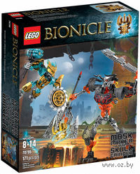 """LEGO. Bionicle. """"Создатель Масок против Стального Черепа"""""""