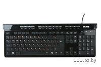Клавиатура мультимедийная USB KM06