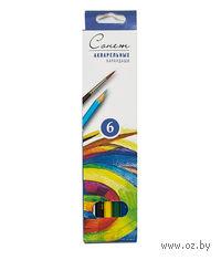"""Акварельные карандаши """"Сонет"""" (6 цветов)"""