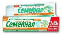 """Зубная паста """"Семейная"""" с экстрактами тысячелистника и ромашки (130 г)"""