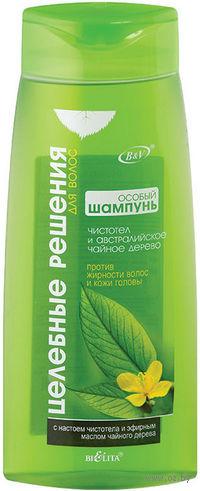 Шампунь против жирности волос и кожи головы (480 мл)