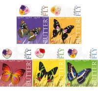 "Тетрадь в клетку ""Butterfly"" 48 листов"