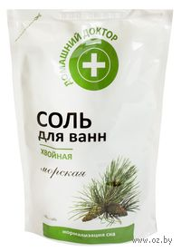 Соль для ванн хвойная (500 г)