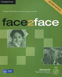 Face2Face. Advanced. Teacher`s Book (+ DVD-ROM)