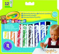 """Фломастеры """"Crayola. Для малышей"""" (12 цветов)"""